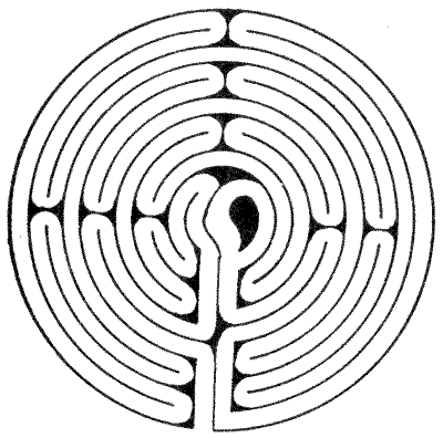 FIG. 7.—Maze at Boughton Green, Nottinghamshire.