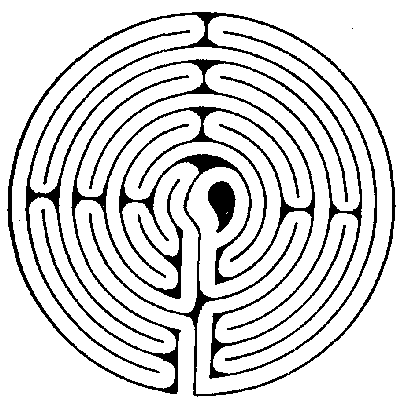 FIG. 8.—Maze at Wing, Rutlandshire.