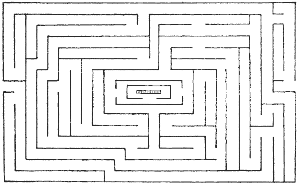 FIG. 16.—Maze at Hatfield House, Herts.